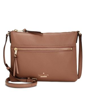 KATE SPADE NEW YORK JACKSON STREET GABRIELLE LEATHER CROSSBODY