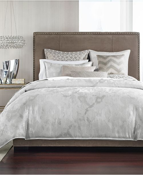 Hotel Collection Interlattice King Duvet Cover, Created