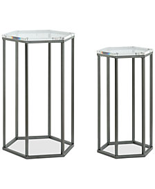 Lexi Nesting Table (Set Of 2), Quick Ship