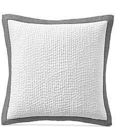 Voile Quilted European Sham, Created for Macy's