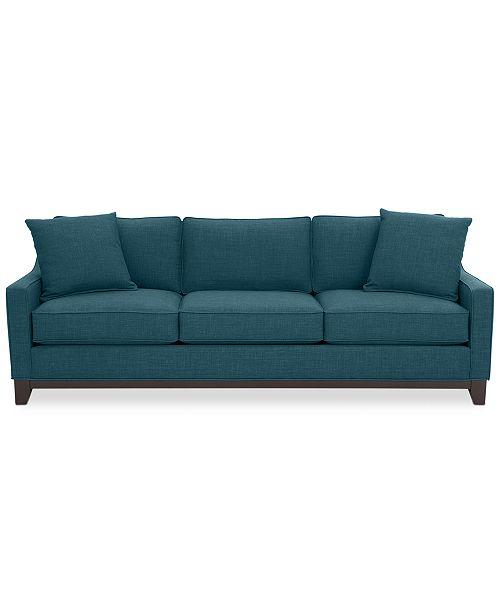 Keegan 90 Fabric Sofa, Created for Macy\'s