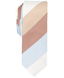 Original Penguin Men's Gustafsson Stripe Skinny Tie