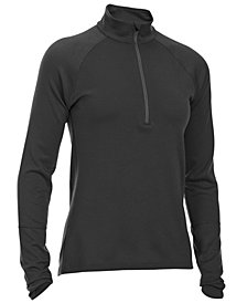 EMS® Women's Techwick® Midweight Quarter-Zip Base Layer