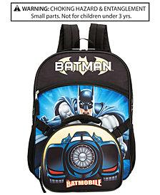 Dc Comics Little Boys Batman Backpack Lunch Tote