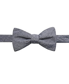 Men's Textural Pre-Tied Bow Tie, Created for Macy's