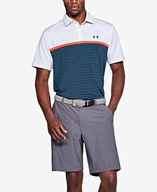 Under Armour Men's Playoff Performance Color Blocked Golf Polo