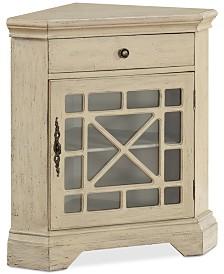 Milstone Corner Cabinet, Quick Ship