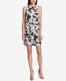 Tommy Hilfiger Tiered Sheath Dress
