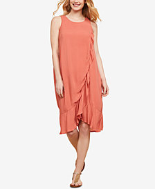 Jessica Simpson Maternity Tiered Nursing Dress