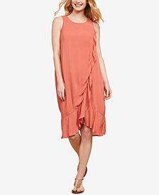 Jessica Simpson Maternity Tiered Nursing Dress