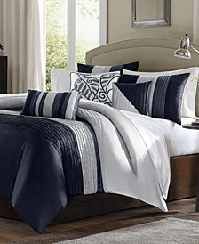 Effie 7-Pc. Queen Comforter Set