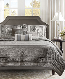 Madison Park Bellagio 6-Pc. Quilted Full/Queen Coverlet Set