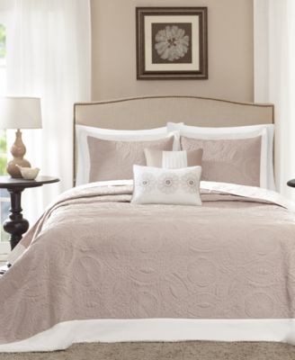 Ashbury 5-Pc. Quilted Queen Bedspread Set