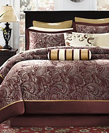 Adeline 12-Pc. California King Comforter Set