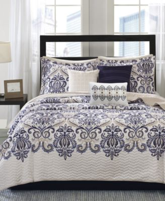 Madison Park Cali 6 Pc. Quilted King/California King Coverlet Set