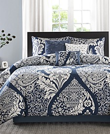 Vienna Cotton 7-Pc. Queen Comforter Set