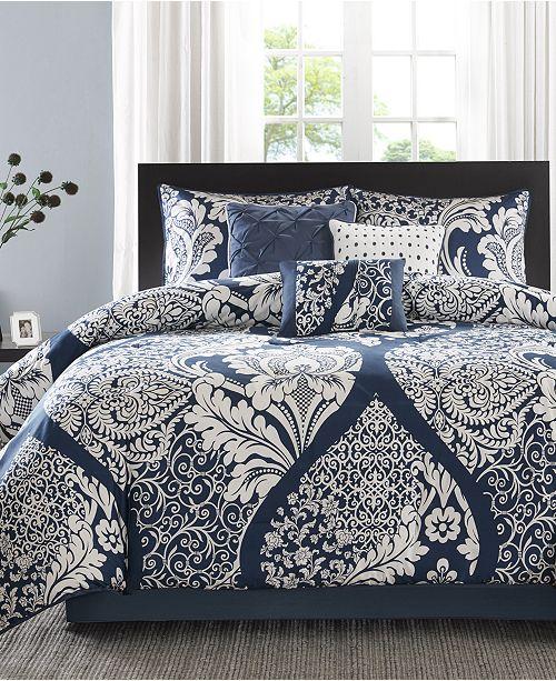 Madison Park Vienna Cotton 7-Pc. King Comforter Set
