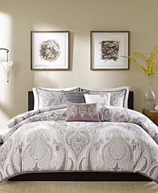 Samir 6-Pc. Full/Queen Duvet Cover Set