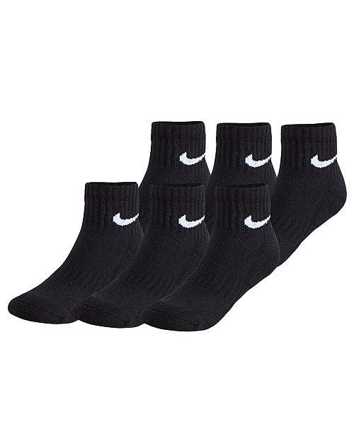 Jordan Nike Little Boys 6-Pk. Ankle Socks