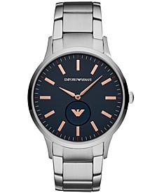 Men's Stainless Steel Bracelet Watch 43mm