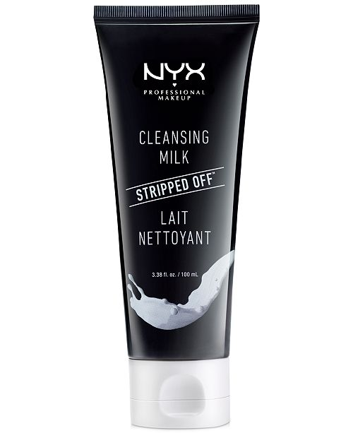 NYX Professional Makeup Stripped Off Cleansing Milk, 3.38 fl. oz.