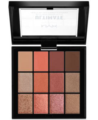 Ultimate Multi-Finish Shadow Palette - Warm Rust