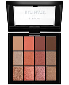 Ultimate Multi-Finish Shadow Palette - Warm Rust