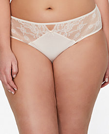 Ashley Graham Plus Size High-Rise Lace Panty 402150