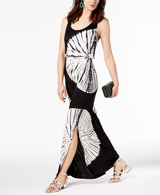 Inc International Concepts I N C Tie Dyed Maxi Dress Created For