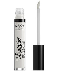 NYX Professional Makeup Lip Lingerie Matte Liquid Lipstick