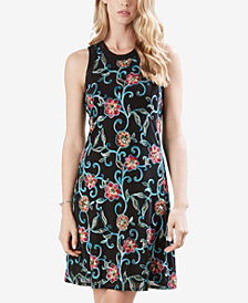 Karen Kane Embroidered Pullover Dress