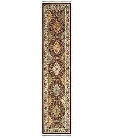 "Oriental Weavers Masterpiece Baktiari Red 2'3"" x 10' Runner"