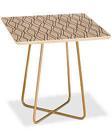 Deny Designs Heather Dutton Fuge Stone Square Side Table