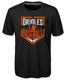 Outerstuff Baltimore Orioles Run Scored Poly T-Shirt, Big Boys (8-20)