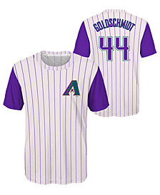 Outerstuff Paul Goldschmidt Arizona Diamondbacks Coop Poly Player T-Shirt, Big Boys (8-20)