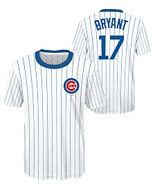Outerstuff Kris Bryant Chicago Cubs Coop Poly Player T-Shirt, Big Boys (8-20)