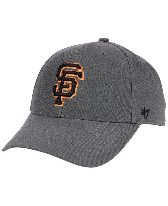 '47 Brand San Francisco Giants Charcoal MVP Cap