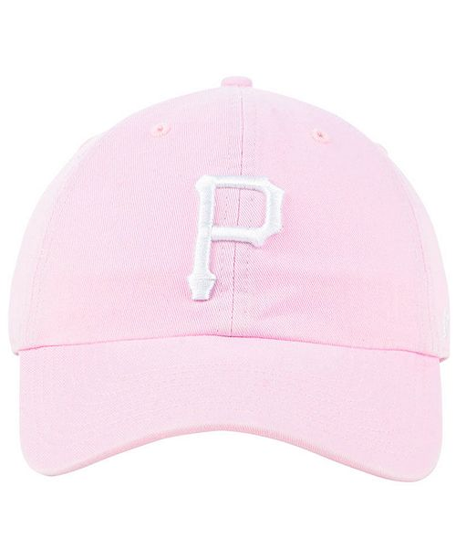 separation shoes 56a76 90d2e ... low cost 47 brand pittsburgh pirates pink clean up cap sports fan shop  by lids women