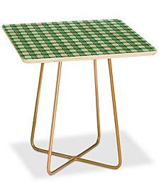 Deny Designs Holli Zollinger Seville Gingham Square Side Table