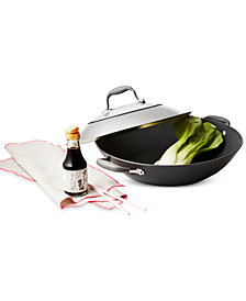 "Anolon Advanced Nonstick 14"" Covered Wok"