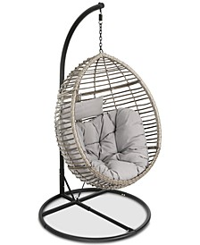 Logan Outdoor Basket Chair, Quick Ship