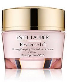 Estée Lauder Resilience Lift Firming/Sculpting Face and Neck Creme Oil-Free Broad Spectrum SPF 15, 1.7 oz.