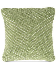"Modern Geometric Diagonal Stripe 18"" Decorative Throw Pillow"