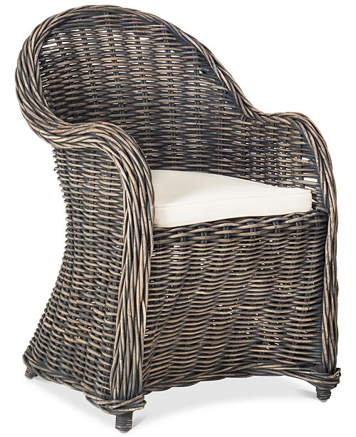 Safavieh Cargil Club Chair, Quick Ship