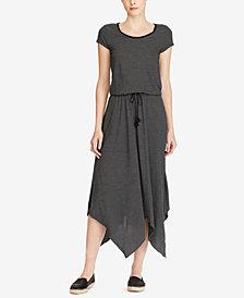 Lauren Ralph Lauren Jersey Handkerchief Dress