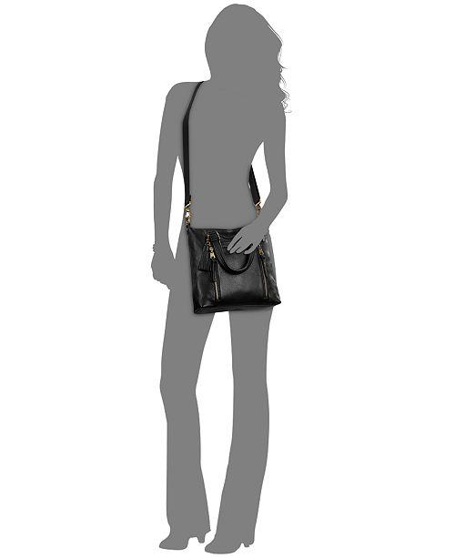The Sak Sequoia Small Leather Crossbody & Reviews Handbags