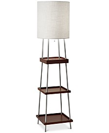 Adesso Henry Wireless Charging Floor Lamp