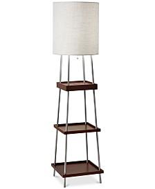 Adesso Henry Wireless Charging Floor Lamp