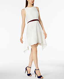 Julia Jordan Layered Popover Dress