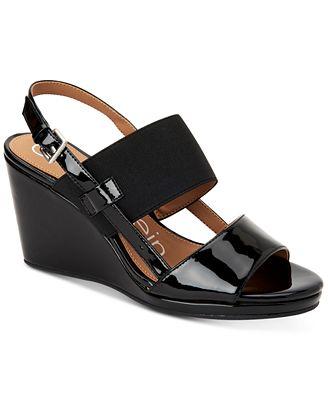 Calvin Klein Women's Bethan Wedge Sandal